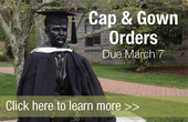 cap- gown order sidebar ad